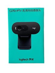 Logitech-C270i-PTV-960-001084-Desktop-or-Laptop-Webcam-HD-720p-Widescreen-for-Video-Calling-and-Recording-Worldwide-Version-Chinese-Spec