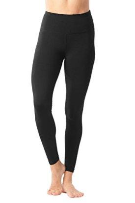 90 Degree By Reflex - High Waist Power Flex Legging – Tummy Control - Black XL