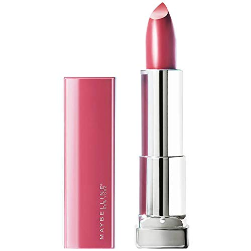 Maybelline New York Color Sensational Made for All Lipstick, Pink For Me, Satin Pink Lipstick, 0.15 Ounce