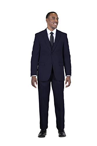 STACY ADAMS Men's Suny Vested 3 Piece Suit