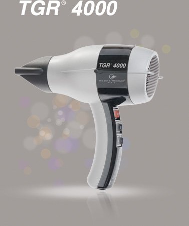 Velecta Paramount Professional Ceramic Ionic Hair Dryer - TGR4000I