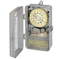 Intermatic T8805P101C Mechanical Cycle and Irrigation Timer Switch with 14 Day Skipper