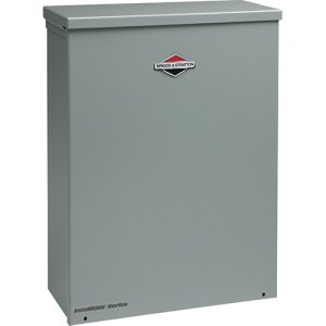 Briggs & Stratton 71045 Whole House Air-Cooled Automatic Transfer Switch for Standby Generators, 100-Amp