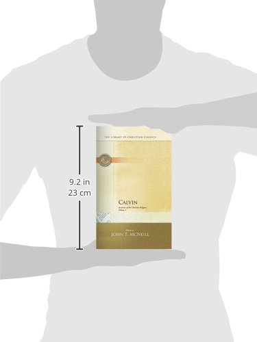 Calvin Institutes Of The Christian Religion 2 Volume Set