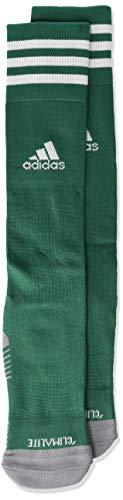 adidas Copa Zone Cushion IV Soccer Socks (1-Pack), Collegiate Green/White, 13C-4Y
