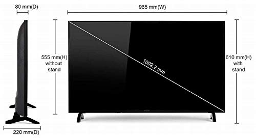 Panasonic 123 cm (49 Inches) 4K UHD LED Smart TV TH-49FX600D (Black) (2018 model) 6