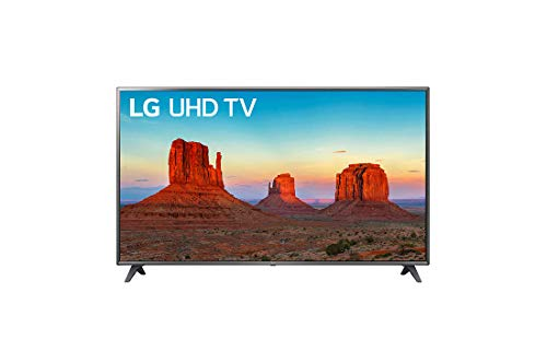 LG 75UK6190PUB UK6190PUB 4K HDR Smart LED UHD TV - 75' Class (74.5' Diag)