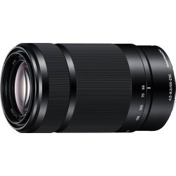 Sony E 55-210mm F4.5-6.3 Lens for Sony E-Mount Cameras (Black) - International Version (No Warranty)