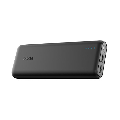 Anker PowerCore Portable Charger 15600mAh with 4.8A Output, PowerIQ and VoltageBoost Technology, Power Bank for iPhone iPad and Samsung