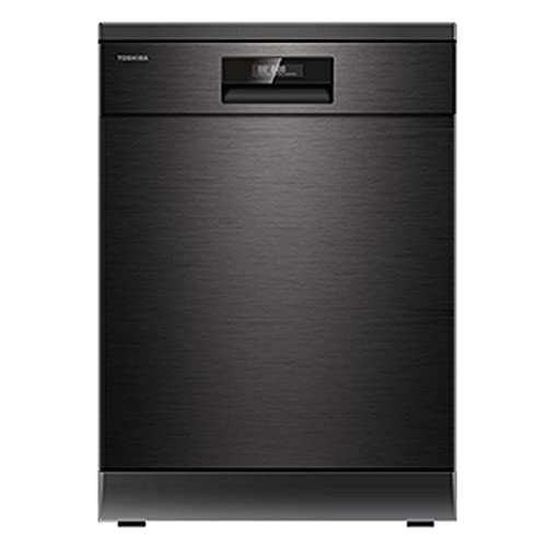 Toshiba-15-Place-Settings-DW-15F2BS-IN-Black-Stainless-Steel-UV-LED-For-Better-Hygiene