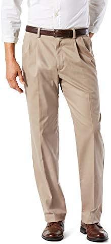 Dockers Men's Classic Fit Easy Khaki Pants – Pleated