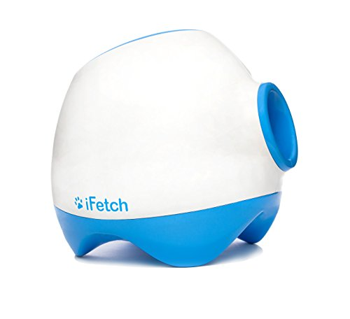 iFetch Too Interactive Ball Launcher for Dogs - Launches Standard Tennis Balls, Large