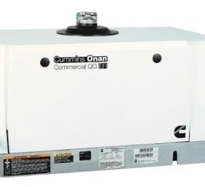 6.5KW Cummins Onan QG LP 6500 Carburated Propane Commercial Mobile 27A Generator – 6.5HGJAE-2145