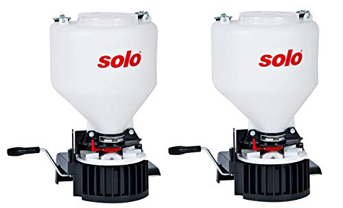 Solo, Inc. Solo 421 20-Pound Capacity Portable Chest-Mount Spreader with Comfortable Cross-Shoulder...