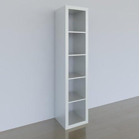Ikea Expedit Regal 5 Scomparti Bianco 185 X 44 X 39 Cm