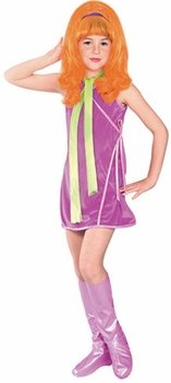 Child's Scooby Doo Daphne Costume (Size:Small 4-6)