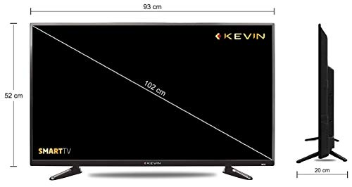 Kevin 102 cm (40 Inches) Full HD LED Smart TV KN40001A (Black) 5