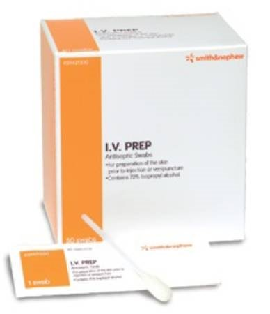IV Prep Antiseptic Wipes