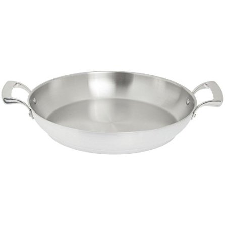 Browne-5724173-12-12-Stainless-Steel-Paella-Pan