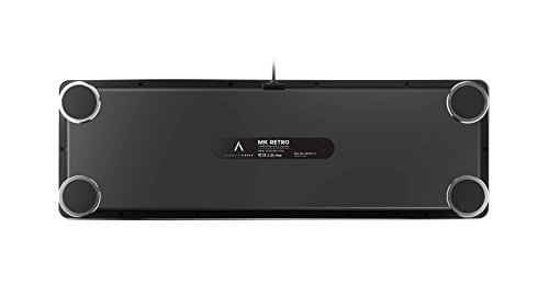 Azio-Retro-USB-Mechanical-Keyboard-Blue-Switch