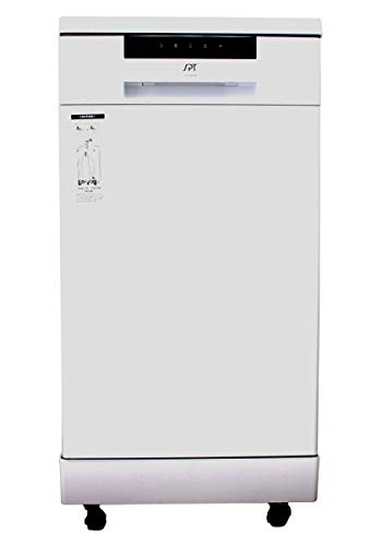 SPT SD-9263W 18 ″ Energy Star Portable Dishwasher– White