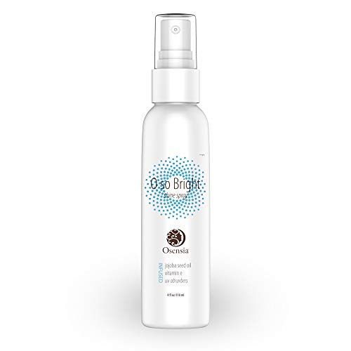 Shine Spray and UV Protectant – Hair Polish and Growth Stimulator – Jojoba Oil, White Birch Extract, Vitamin E Humidity Resistant Glossy Finishing Spray for Dry, Damaged, Color Treated Hair by Osensia