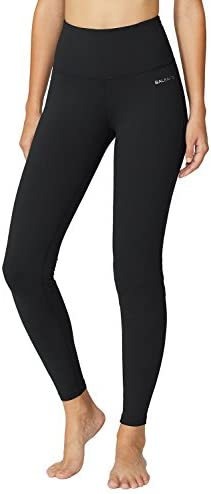"BALEAF Women's 20"" / 28"" High Waisted Yoga Leggings Workout Capri Tummy Control Pants with Pocket(Plus Size/Regular) 1"