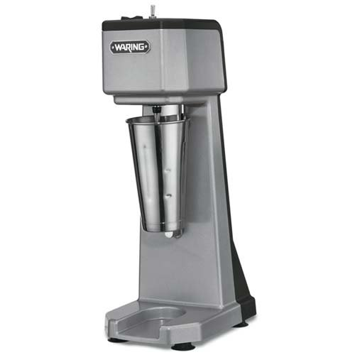 Waring Commercial WDM120 Heavy Duty Diecast Metal Single Spindle Drink Mixer