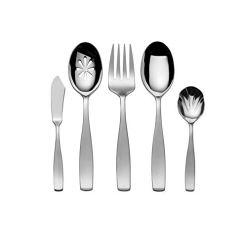 Mikasa Satin Loft 65-Pc Steel Flatware Set