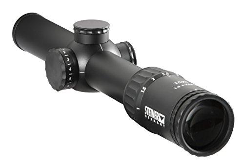 Steiner T5Xi 1-5x 24mm Riflescope, 3TR 7.62mm...