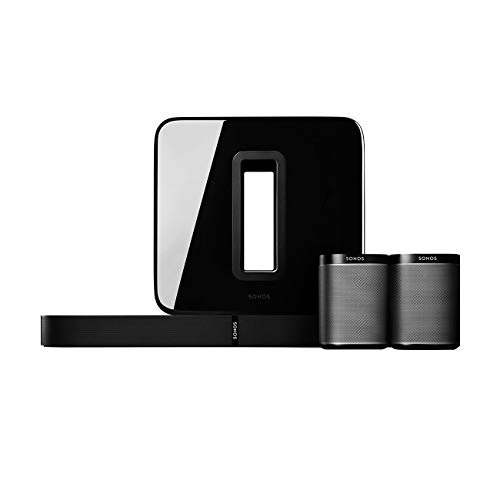 Sonos 5.1 Home Theater System with PLAYBASE (Black)