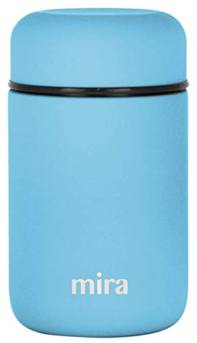 MIRA Lunch, Food Jar | Vacuum Insulated Stainless Steel Lunch Thermos | 13.5 oz | Sky