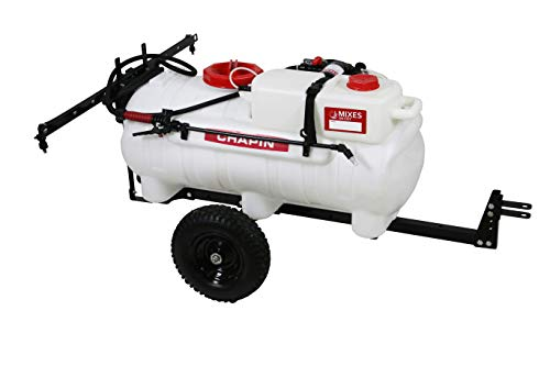 Chapin International Inc. 97761 The First-Ever Clean-Tank Tow Behind Sprayer, Translucent White