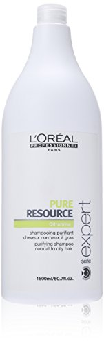 L'oreal Serie Expert Pure Resource Shampoo for Unisex, 50.7 Ounce