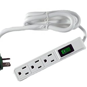 GoGreen Power GG-13002MS 3 Outlet Power Strip