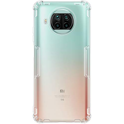 """Nillkin Case for Xiaomi Mi 10i (6.67"""" Inch) Nature Series Back Soft Flexible TPU White Color TODAY OFFER ON AMAZON"""