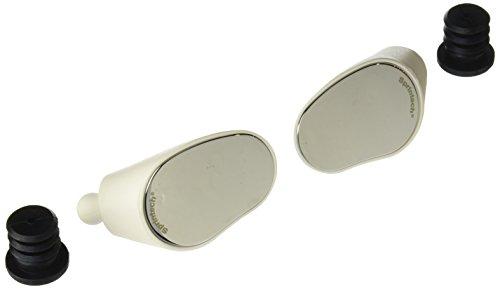 Sprintech Drop Bar Mirror, White, Pair