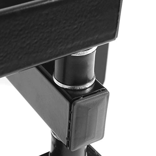 Kathiriyas Kathiriya,s Solid Heavy Metal Wall Mount Stand (Movable) for 17 to 40-inch LCD LED TV with All Screw (Black) 7
