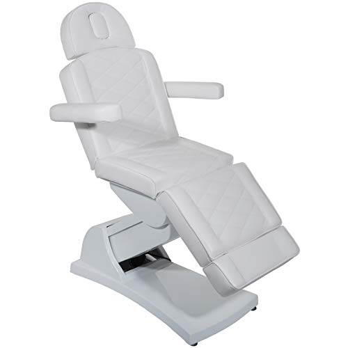 VEVOR-4-Motors-Electric-Facial-Chair-Full-Electrical-Massage-Table-Dental-Bed-Aesthetic-Adjustable-Reclining-Chair-for-Podiatry-Tattoo-Spa-Salon-All-Purpose-Bed-Chair-White