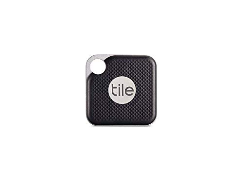 Tile-Inc-Pro-Black-Bluetooth-Tracker-and-Finder-Water-Resistant-Replaceable-Battery-Easy-to-Attach-for-Keys-Pet-Collars-and-Bags-1-Pack