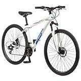Mongoose 29' Men's Banish 2.0 Front Suspension All Terrain Bike, Silver