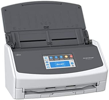 Fujitsu ScanSnap iX1500 Colour Duplex Doc Scanner with Contact Display for Mac and PC [Current Model, 2018 Release]