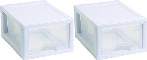 Sterilite 20518006PK2 Sackable Storage Drawer, Pack of 2