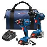 Bosch GXL18V-232B22 18V 2-Tool Kit...