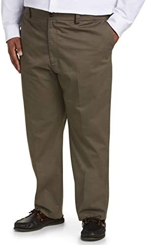 Amazon Essentials Men's Relaxed-fit Wrinkle-Resistant Flat-Front Chino Pant 1