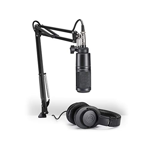 Audio-Technica-AT2020PK-Vocal-Microphone-Pack-for-StreamingPodcasting