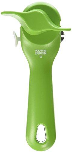 Kuhn Rikon 27004 Can Opener, 7.25', green
