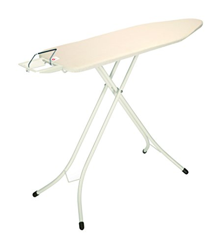 Brabantia Ironing Board with Steam Iron Rest, Size B, Standard - Ecru Cover