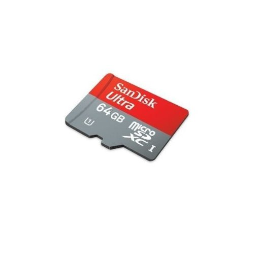 Sandisk SDSDQUA-064G-A11 Professional Ultra 64GB MicroSDXC card is custom formatted for high speed, lossless recording! Includes Standard SD Adapter. (UHS-1 Class 10 Certified 30MB/sec) for GoPro HERO4 Black