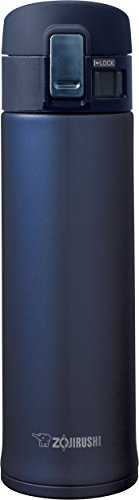 Zojirushi SM-KHE48AG Stainless Steel Mug, 16-Ounce, Smoky Blue